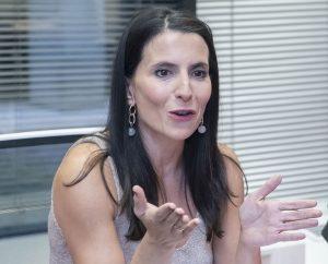 Raquel Cutillas, rehabilitadora y miembro de la Unidad de Disfagia de la Fundación Jiménez Díaz, de Madrid
