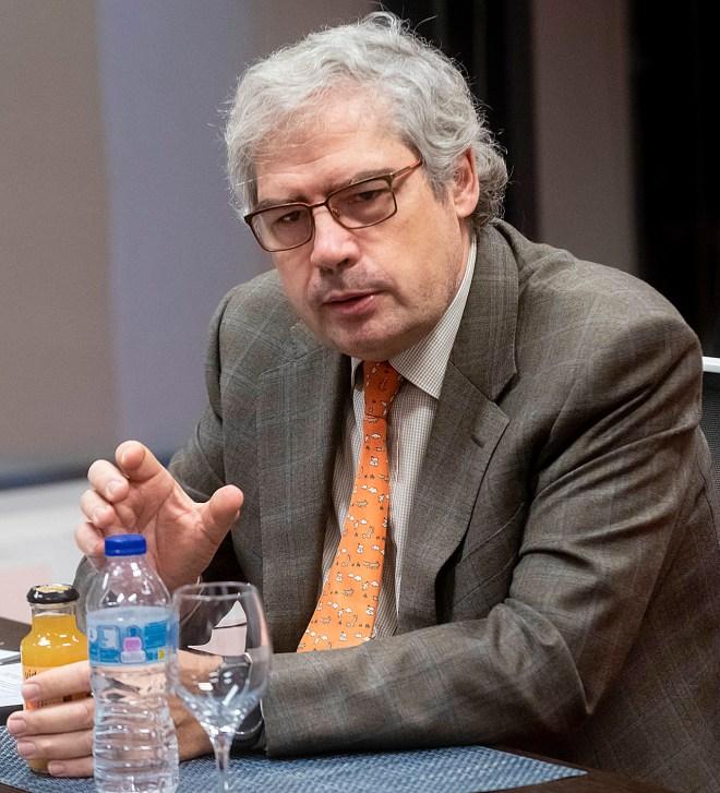 Raimundo Gutiérrez Fonseca, jefe del Servicio de Otorrinolaringología del Hospital Universitario Rey Juan Carlos, de Móstoles (Madrid).