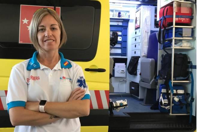 Esther Gorjón Peramato, enfermera de emergencias, vicepresidenta 3ª y vocal nacional de Enfermería de Semes.