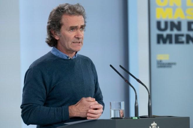 Fernando Simón, director del Centro de Coordinación de Alertas y Emergencias Sanitarias del Ministerio de Sanidad (CCAES) (Moncloa)
