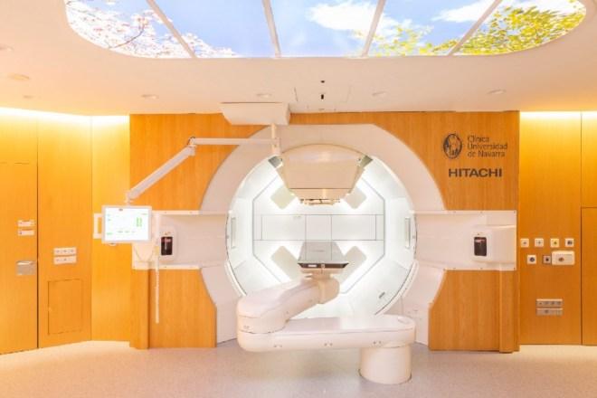 Máquina de protonterapia de la CUN