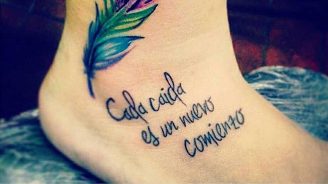 Frases Para Tatuajes Aquí Tienes Las Que Estás Buscando