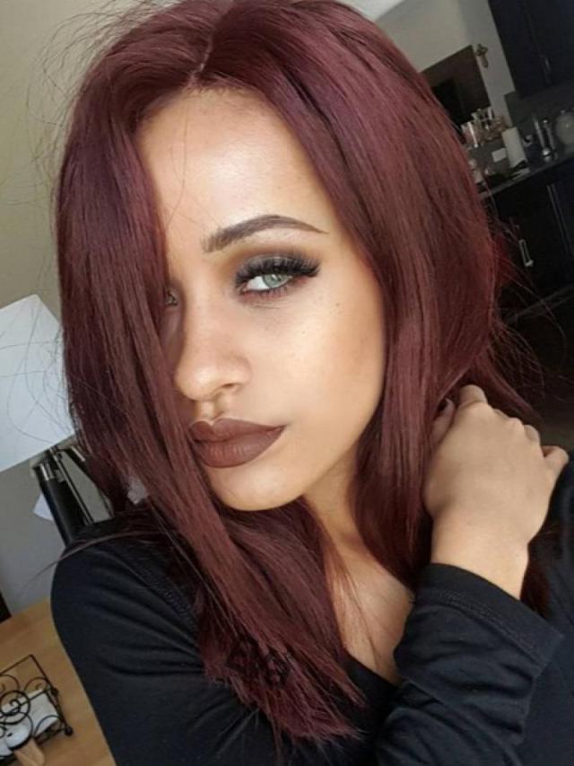 pinterest hot style medium shoulder length blunt hair ends custom virgin hair full lace wig