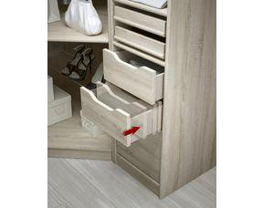 tiroir facade bois h 31 6 cm pour dressing espace