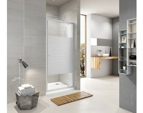 porte de douche pivotante dan