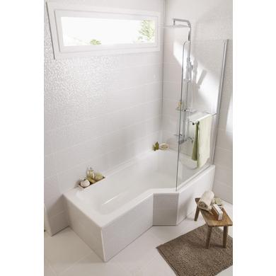 Baignoire droite toplax droite AUDACE  Salle de bains