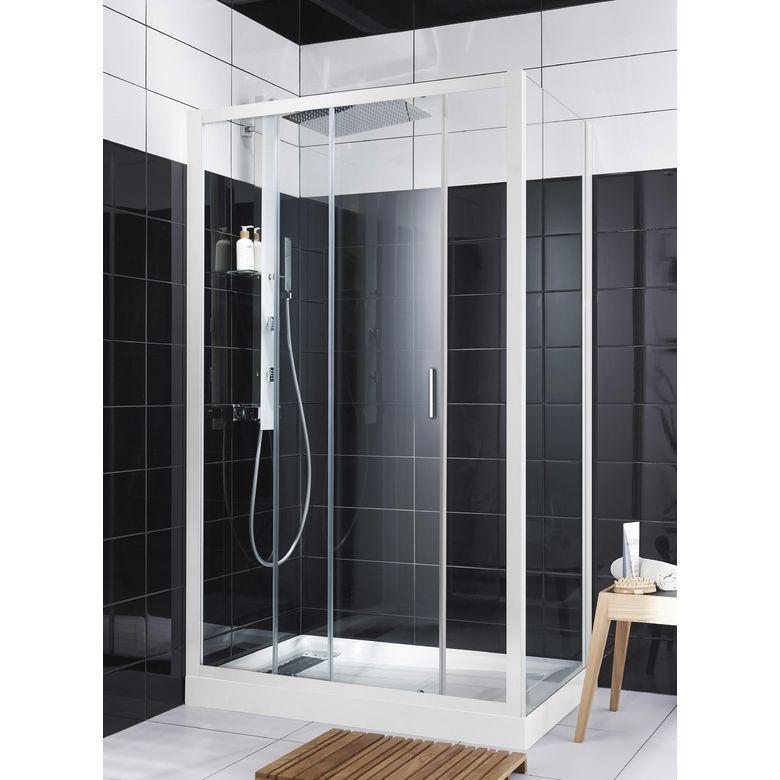 Porte de douche coulissante RUBIS  Salle de bains