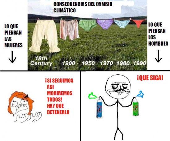 Resultado de imagen para Memes sobre el cambio climático