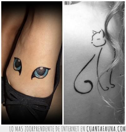 Cuánta Fauna Tatuajes Gatunos