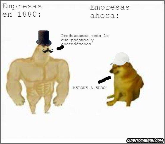 Empresas antes y ahora