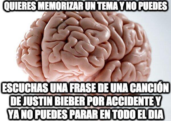 El cerebro mas resistente que he visto