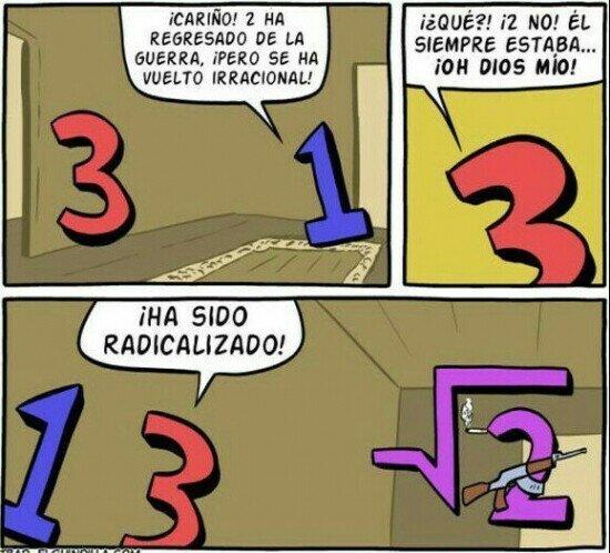 Un comic para matemáticos
