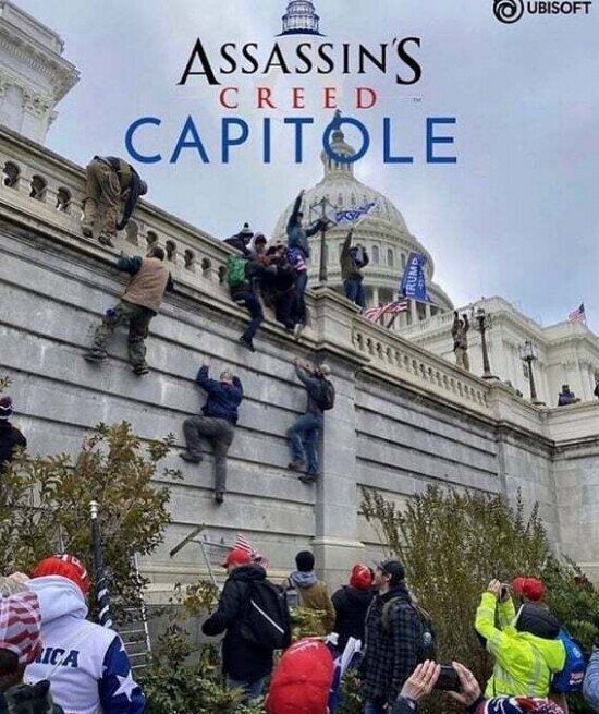 Menuda pintaza el último Assassins Creed