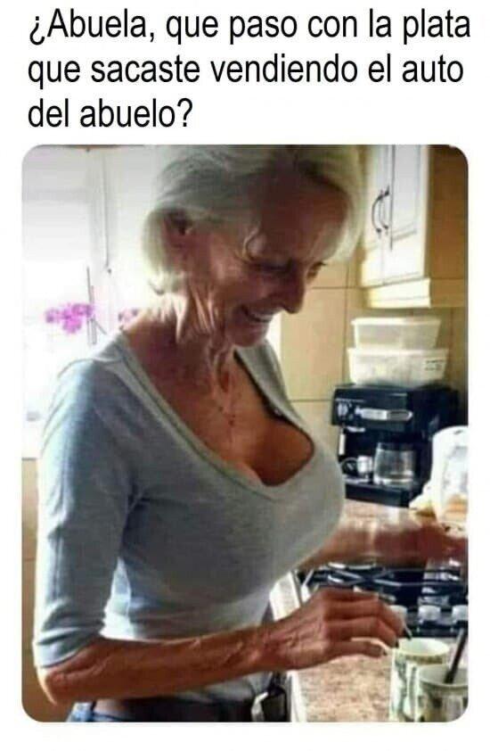 ¿¡Pero abuela!?