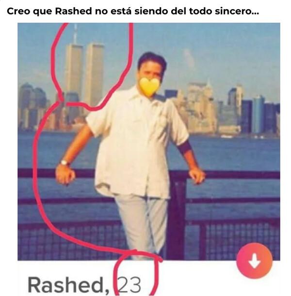 No sé, Rashed, parece falso...