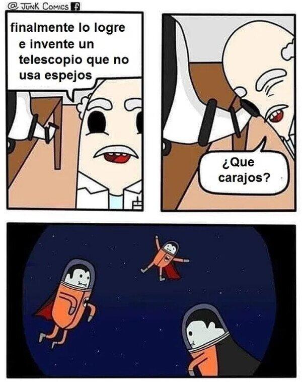 ¡Descubren vampiros astronautas!