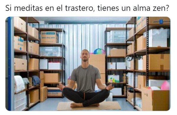 Las chorradas que se te vienen a la mente con la meditación