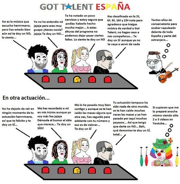 Got Talent España básicamente...