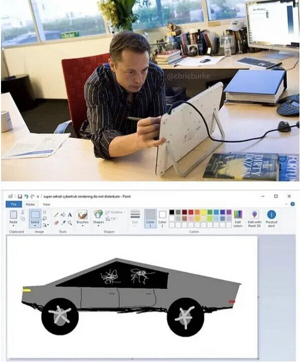Así se creo el Cybertruck de Elon Musk