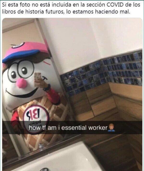 Trabajador esencial