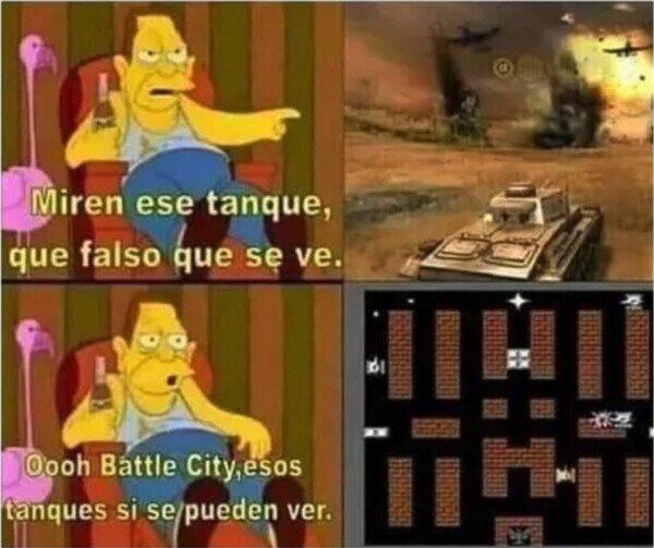 Los verderos juegos de tanques