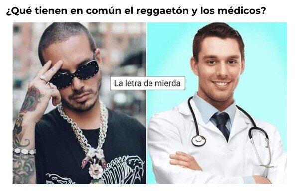 Medicina y reggaeton