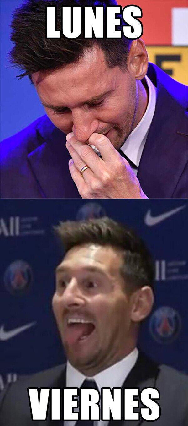 Mood de Messi
