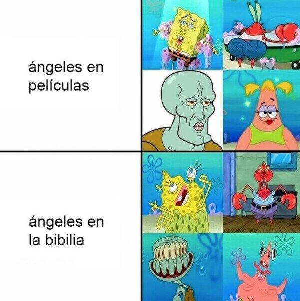Los ángeles de verdad son los segundos