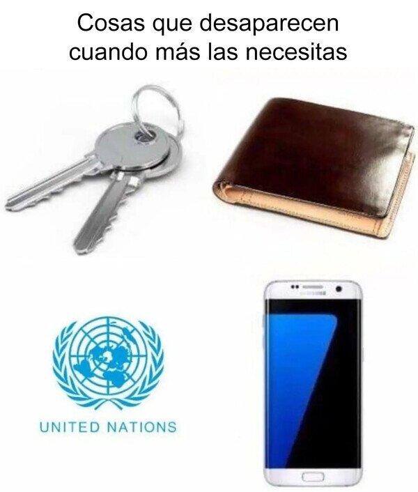 ¿Alguien ha visto a la ONU?