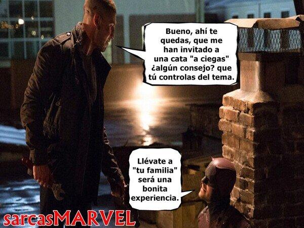 Daredevil versus The Punisher