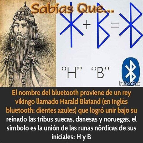 El origen del Bluetooth