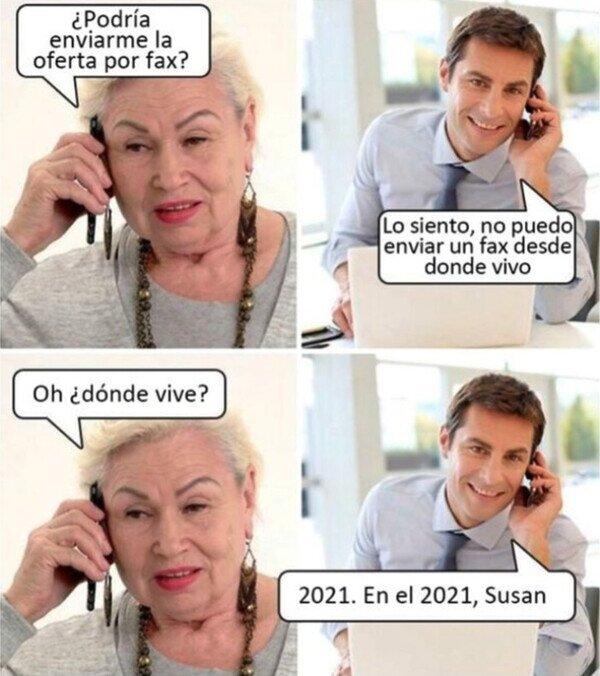 Bienvenida al siglo XXI, Susan