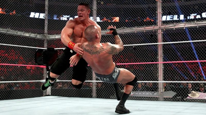 John Cena has a less than flattering record at Hell in a Cell