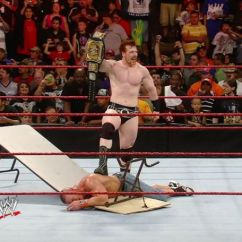 What Are Wwe Chairs Made Of Best Multi Position Beach Chair Page 2 5 Little Known Facts About Tlc Tables Ladders And Things Sure Have Changed For Sheamus Over The Past Eight Years