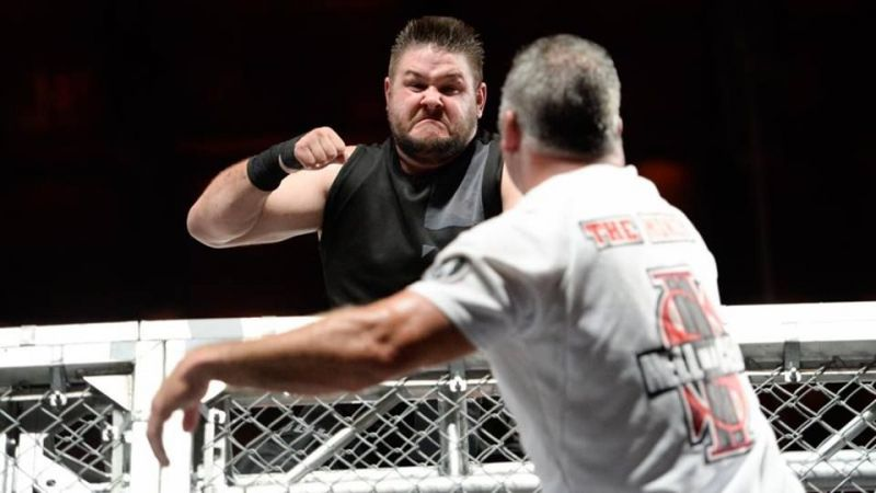 Hell in a Cell KO and Shane McMahon