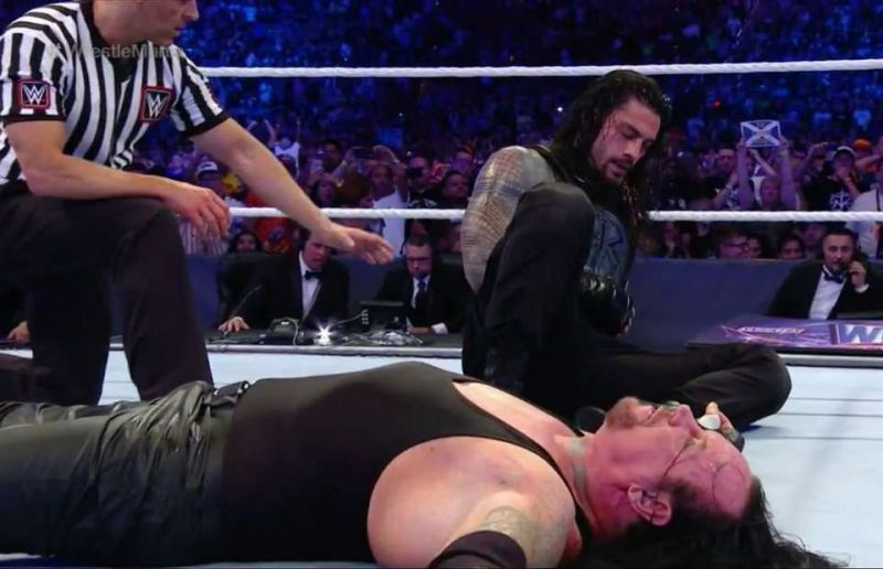 Roman Reigns shockingly defeated Undertaker at WrestleMania 33