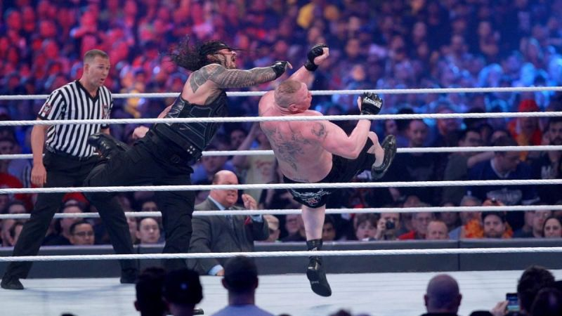 A Superman Punch from Reigns
