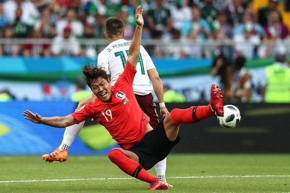 2018 FIFA World Cup: South Korea 1 - 2 Mexico