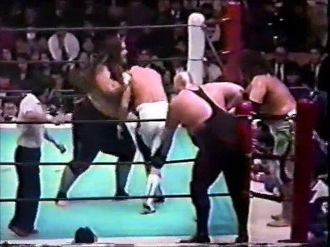 Vader and Great Kokina (Yokozuna) formed a tag team in Japan.