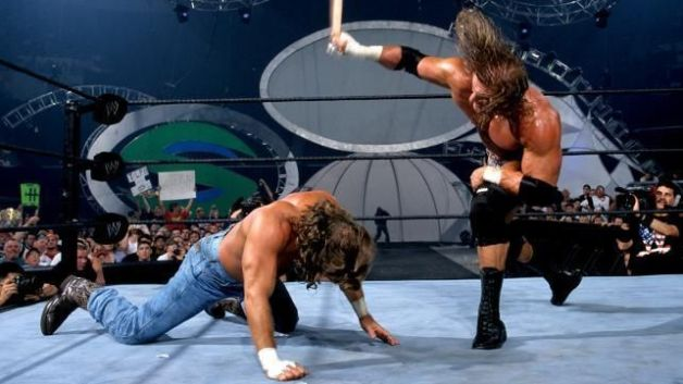 One of the most brutal match in the history of SummerSlam.