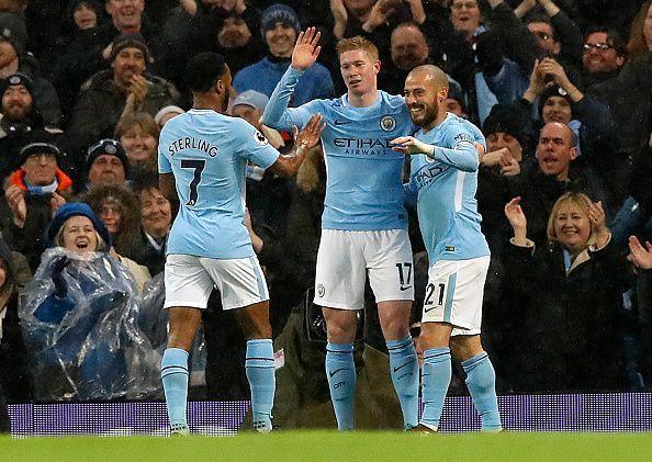 Manchester City v Watford - Premier League - Etihad Stadium