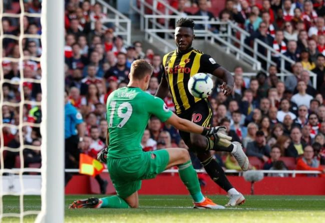Image result for arsenal 2-0 watford success