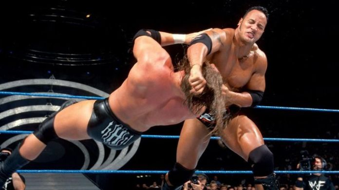 This was the main event of the inaugural episode of SmackDown...