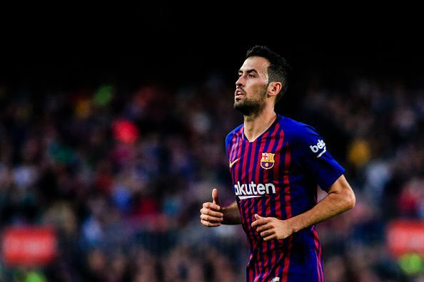Sergio Busquets has been a one-club man so far