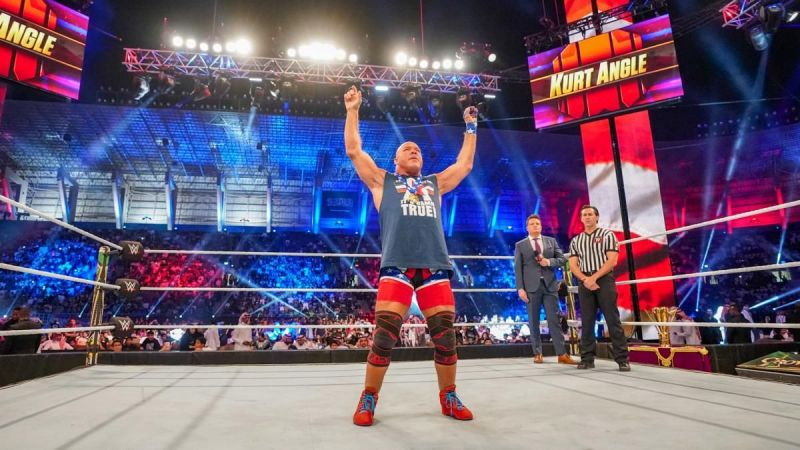 The WWE are telling a bigger story with Angle following his recent losses