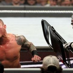 Steel Chair In Wwe Dining Room Covers Target Page 5 Tlc Results December 16th 2018 Winners Video Randy Orton Had The Upper Hand At Start Of Match But Mysterio Managed To Send Outside And Hit Him With A Slide Into Downed