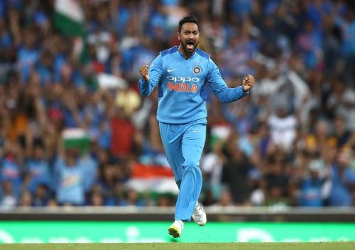A great gesture from Krunal Pandya