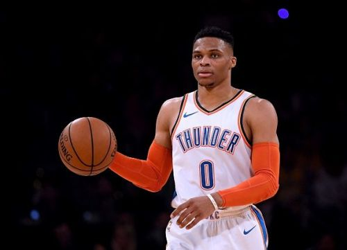 Russell Westbrook will look to fire again tonight