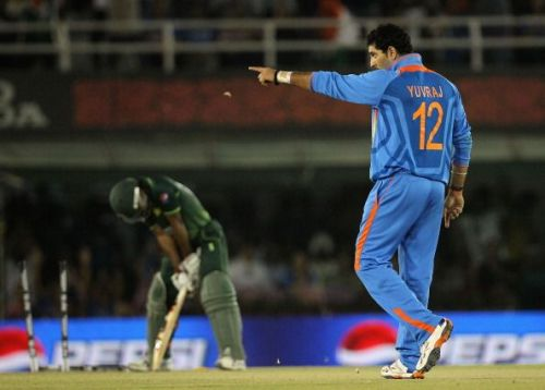 Yuvraj - with the ability to score runs and bowl left arm spin - appears a tempting option if in form.