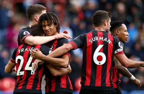 Huddersfield suffered defeat against the mighty Bournemouth.